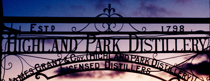 Highland Park Distillery in Orkney is the most northerly whisky distillery in the UK